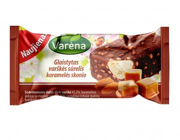 VARĖNOS curd cheese with caramel flavor